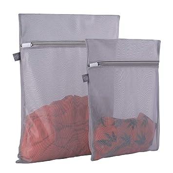 Amazon.com: Bolsa de malla para ropa delicada, bolsa de ...