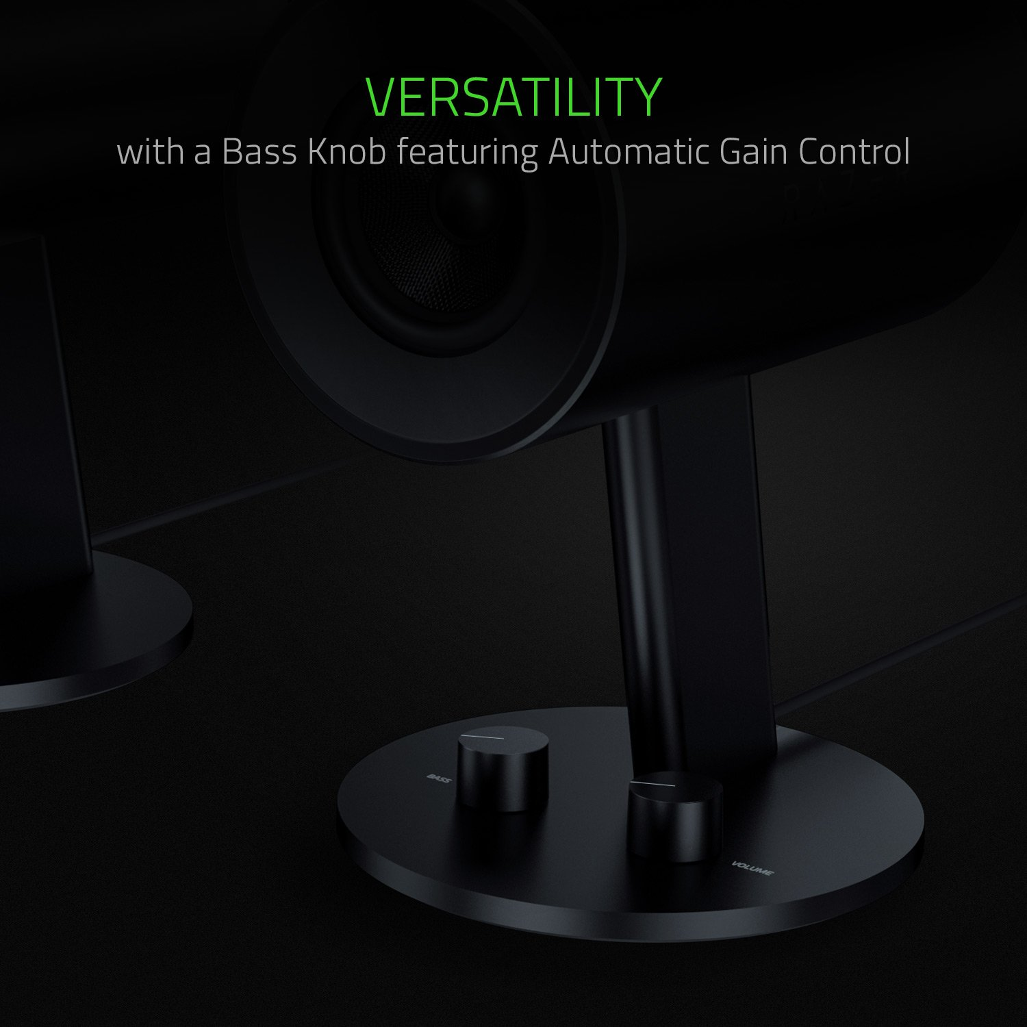 Razer Nommo - Computer Speakers, Rear Bass Ports for Full Range Gaming & Sound Immersion - Custom Woven Glass Fiber 3'' Drivers by Razer (Image #5)