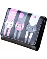 Hot Sale! Women Wallet,Canserin Women's Cat Pattern Coin Purse Short Wallet Card Holders Handbag