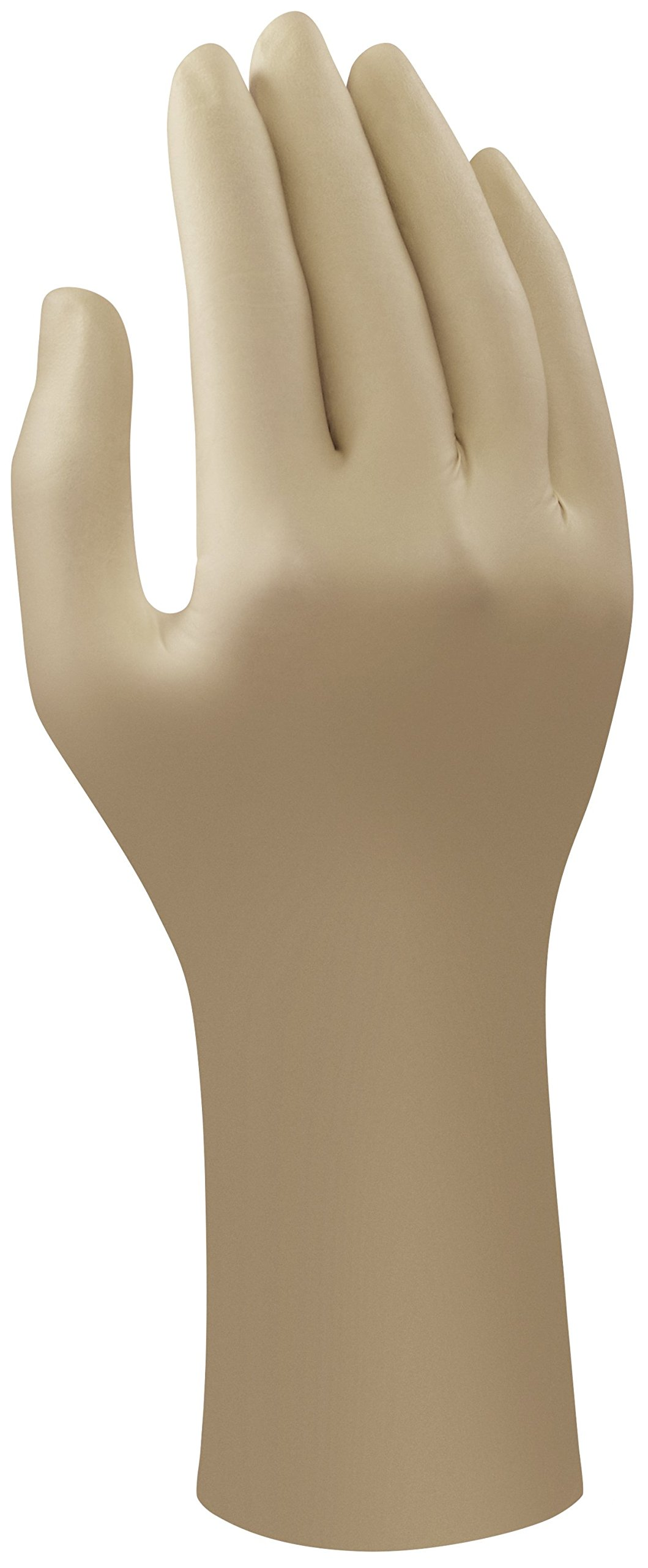 Ansell Accutech 91-870 Latex Glove, Powder Free, Rolled Beaded Cuff, 12'' Length, 8 mils Thick, Small (Pack of 120 Pairs)