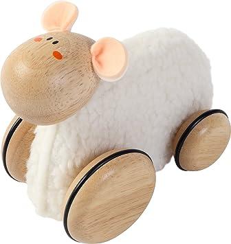 Voila - Oveja con ruedas (madera): Amazon.es: Juguetes y juegos