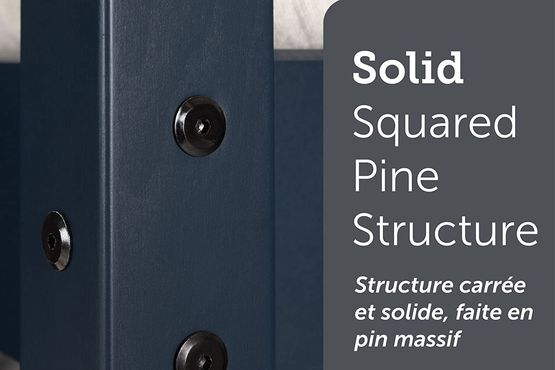 Navy Blue South Shore Furniture 11824 Ulysses Solid Wood Bunk Beds