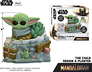 Star Wars Mandalorian Design A Planter