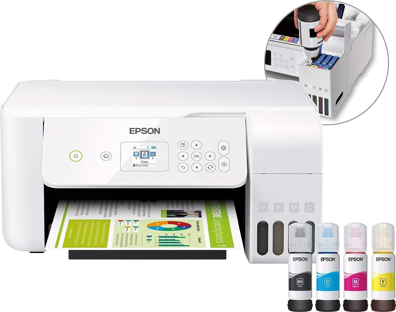 Epson EcoTank ET-2726 - Impresora multifunción 3 en 1 (Impresora ...