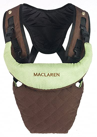 Maclaren Baby Carrier, Coffee And Marsh Green (Discontinued By Manufacturer)