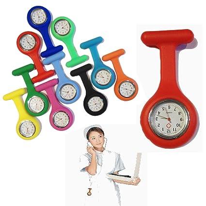 CPI Nurse Watch - Reloj de bolsillo para colgar de batas, cinturones y broches (