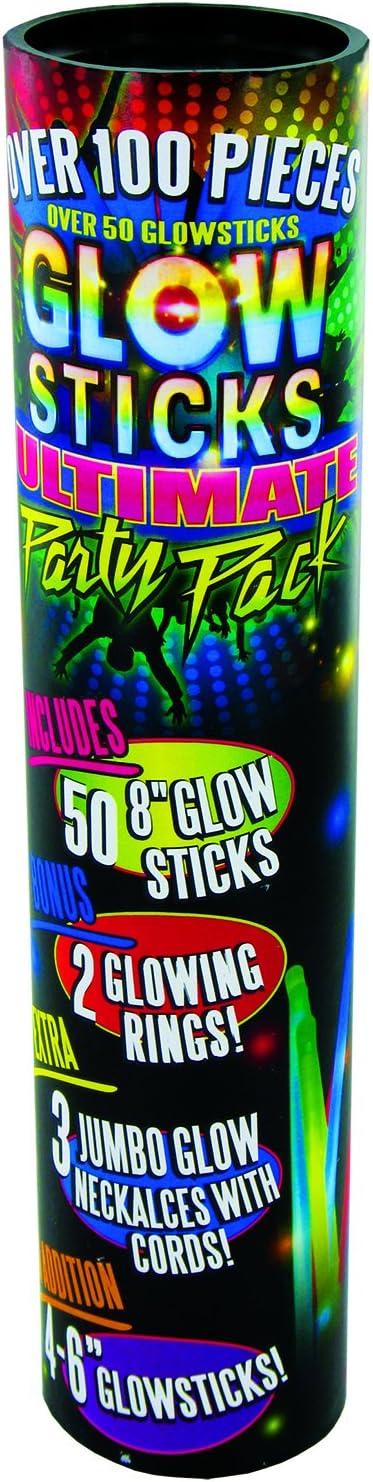 Glow Stick Tube Pack (100-Piece)