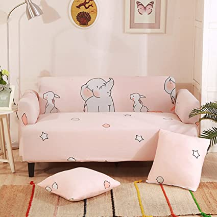 Le Fu Yan Suede Sofa Covers,Stretch Sofa Slipcovers,Furniture  Protector,Thicken Couch