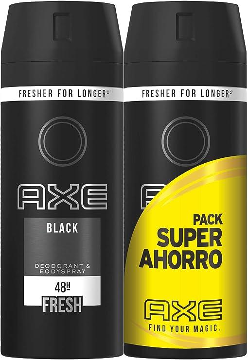 Axe - Pack Duplo Ahorro Desodorante Black - 2 x 150 ml: Amazon.es ...