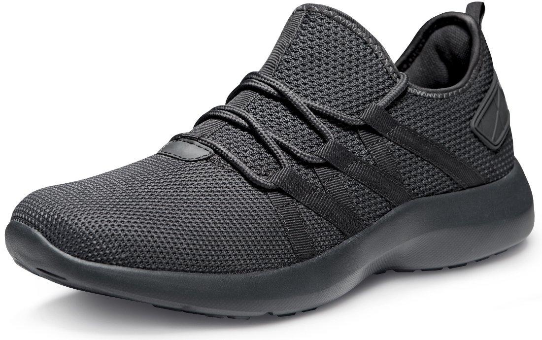 Tesla Men's Knit Pattern Sports Running Shoes L570/X573/X574/E734/X735 (True to Size) B07DD753YJ Men 10.5 D(M)|B-X735-SGY