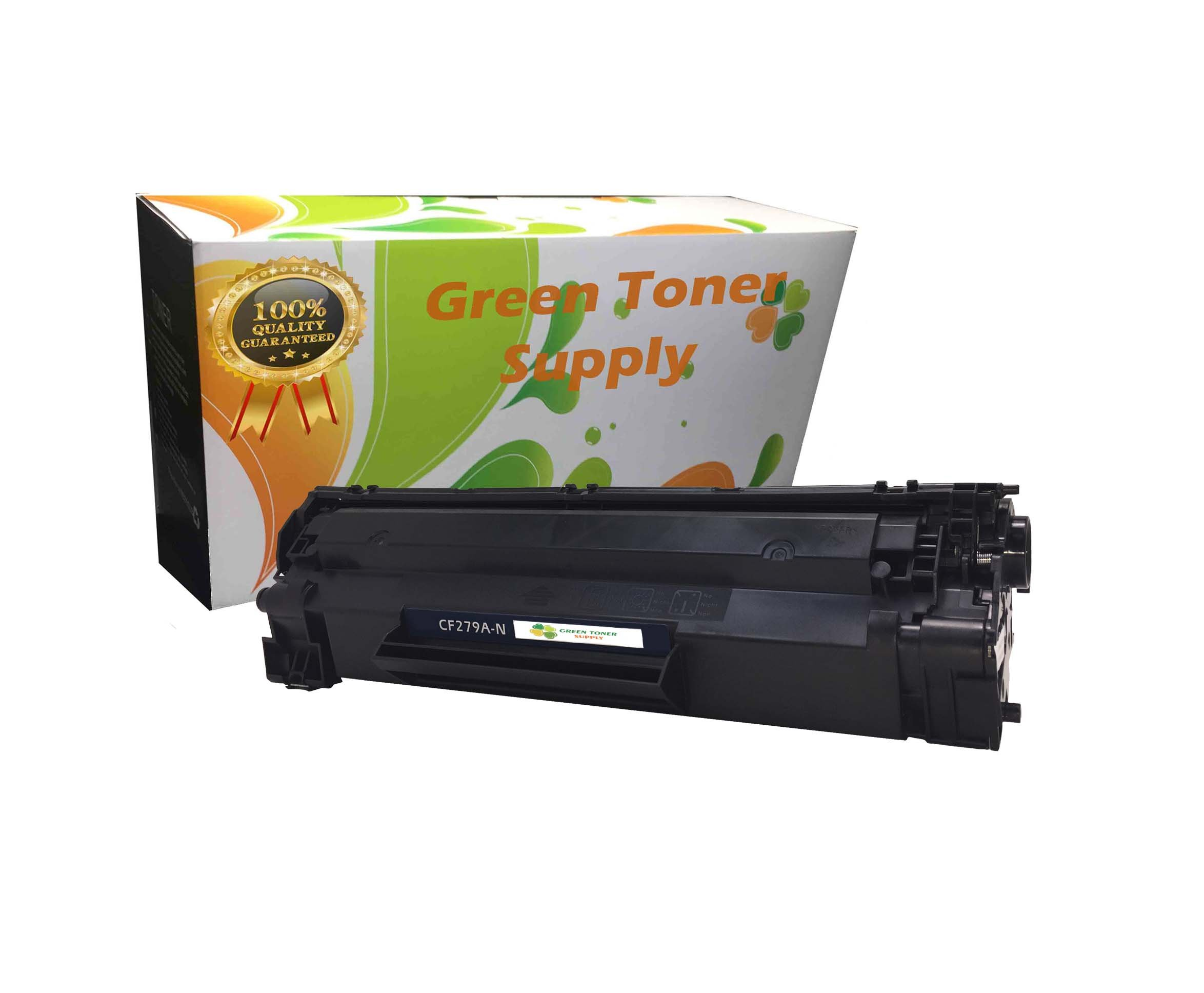 Green Toner Supply New Compatible Samsung MLT-D103L MLT-D103S Black High Yield LaserJet Toner Cartridges, 1 Pack