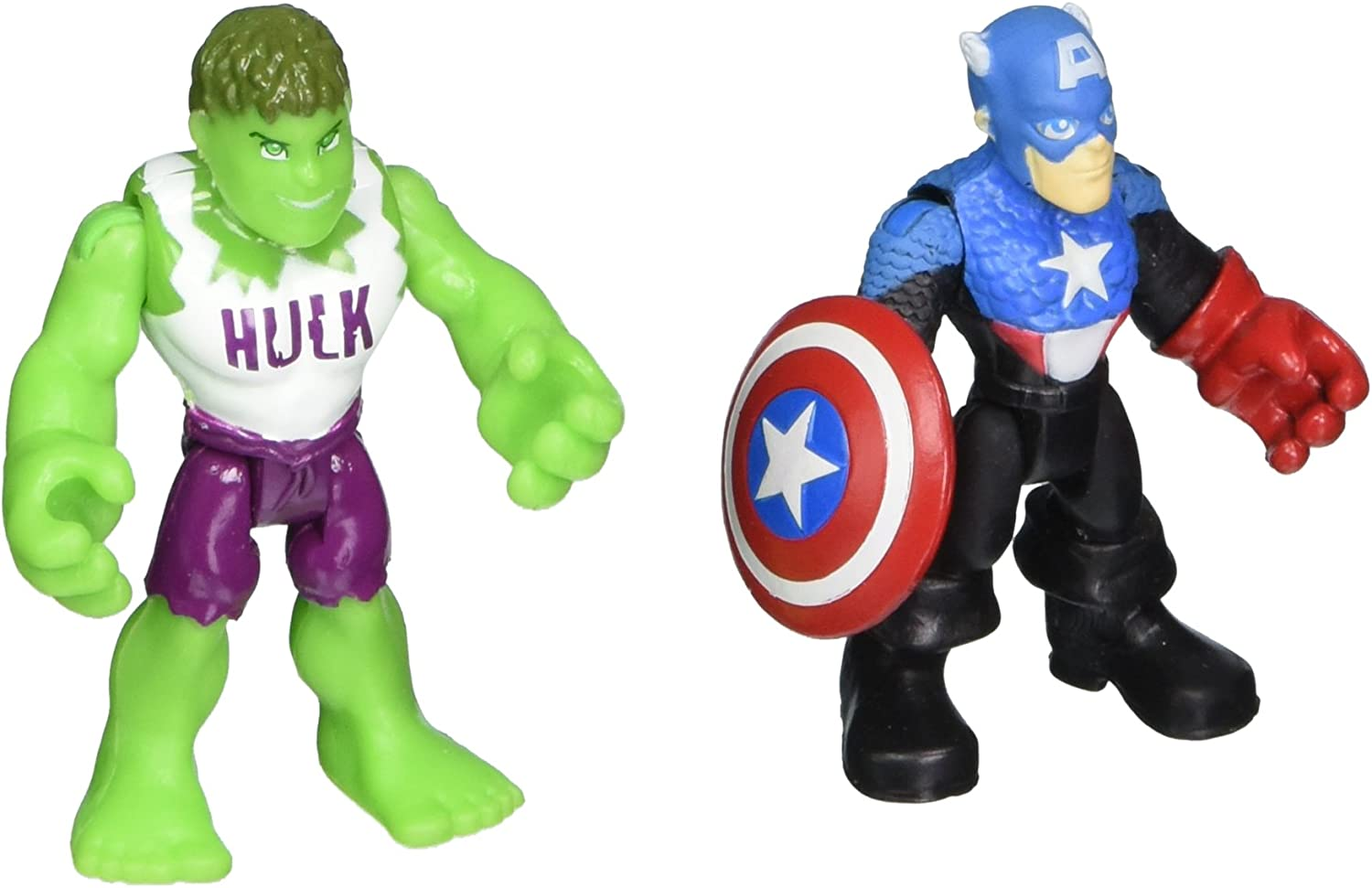 UP to 30 Different Playskool Marvel Super Hero Adventures Figures Your Choice