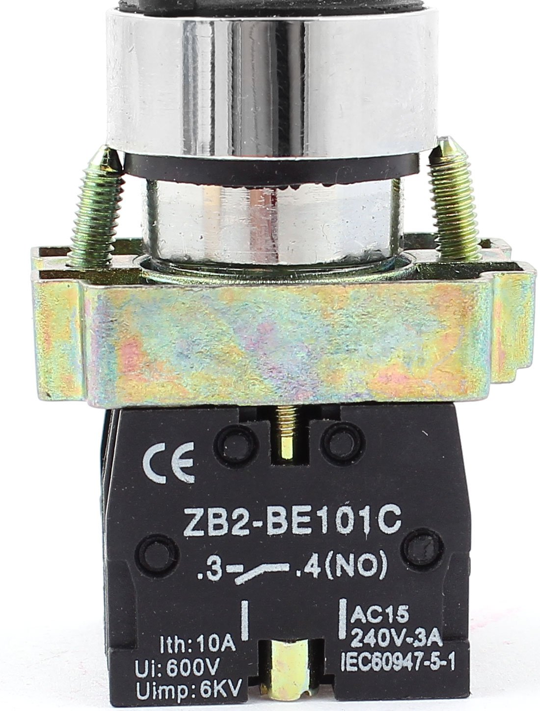 uxcell a14112200ux0184 ZB2-BE101C NO SPST 2 Positions Maintained Rotary Select S