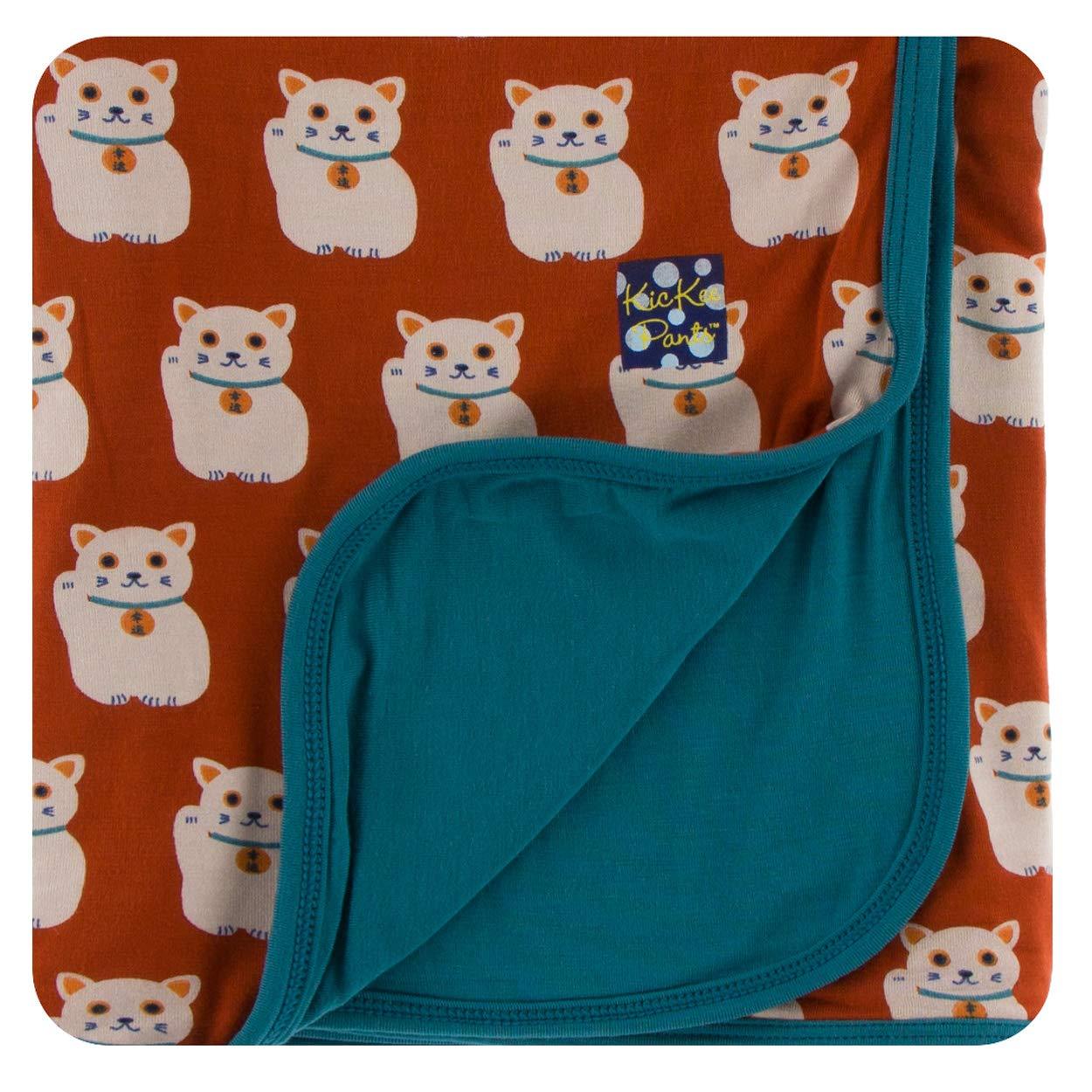 KicKee Pants Baby Boys Essentials Print Stroller Blanket One Size PRD-KPB1306-MNOS