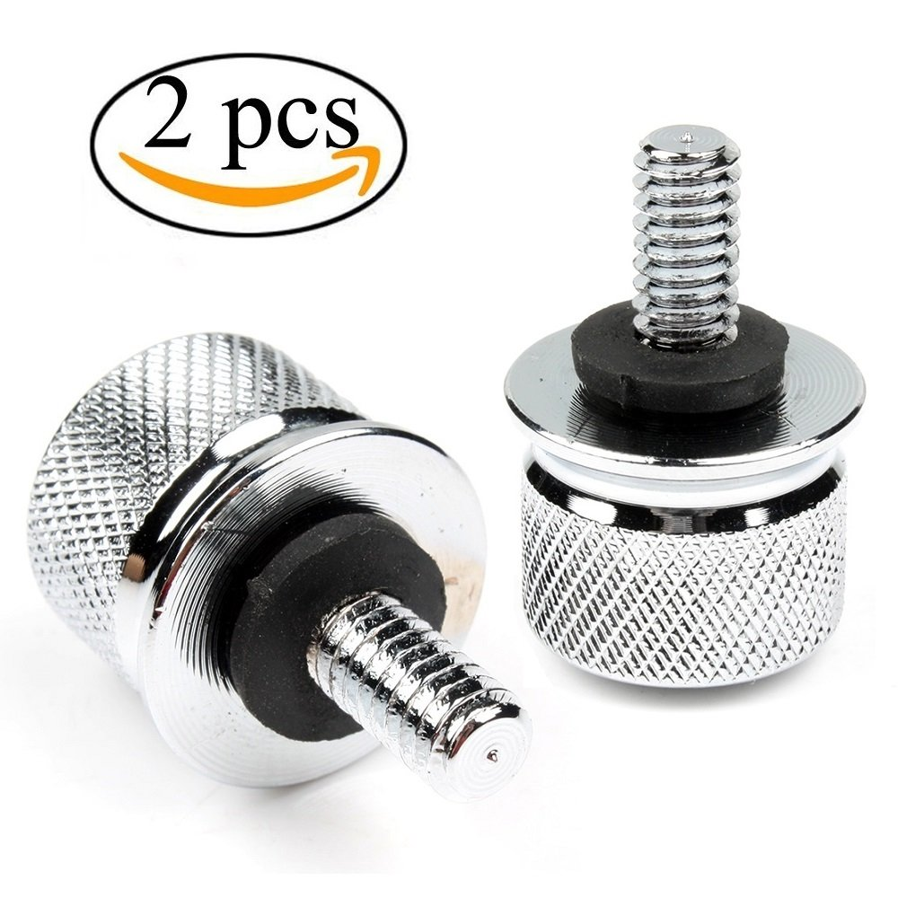 Harley Davidson Sportster Dyna Softail Touring Quick Release Knurled Seat Bolt
