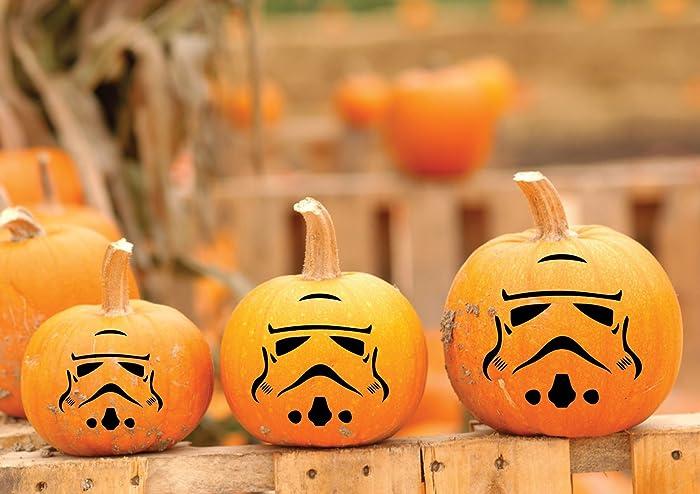 Amazoncom Clone Trooper Star Wars Vinyl Decal Pumpkin