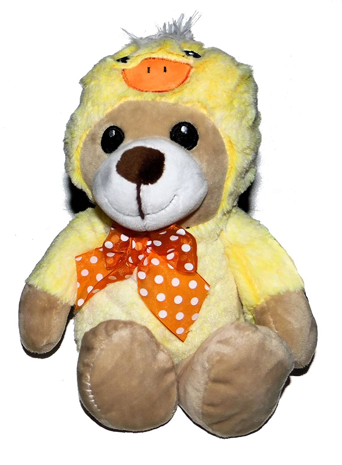 Amazon.com: Oso de peluche en color amarillo pato de pato ...