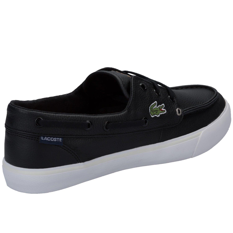 e7fd8aa29a Chaussures bateau Lacoste Keel Sep 2 pour homme en noir: Lacoste:  Amazon.fr: Chaussures et Sacs