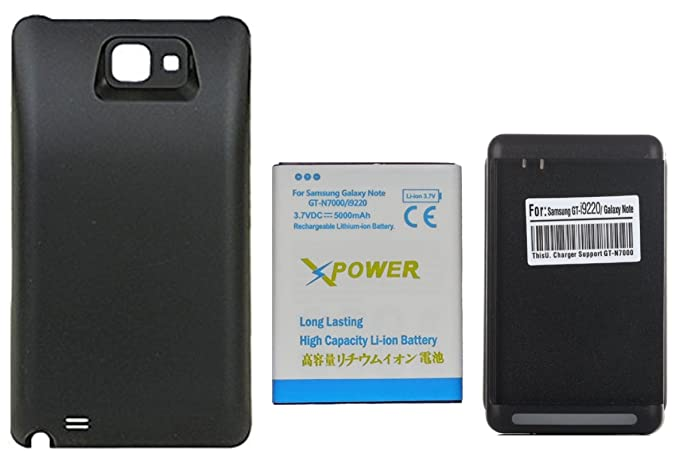Amazon.com: X-Power 5000mAh Batería Extendida con Carcasa ...