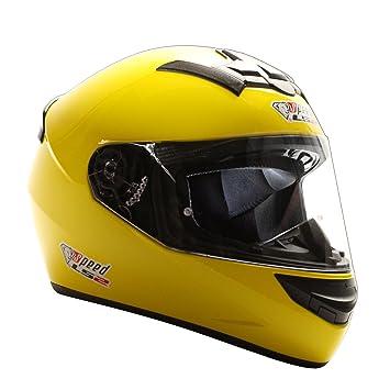 LS2 Rookie FF352 Integral casco amarillo – Edición Especial Speed Racewear – Kart & Moto Casco