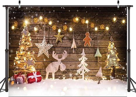 Amazon.com: Dudaacvt - Fondo navideño para fotografía de ...