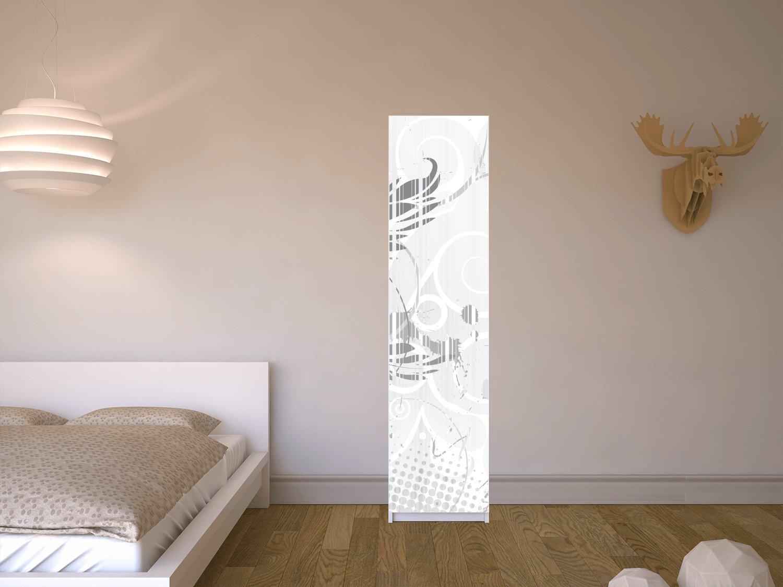 creatisto Klebefolie für IKEA Pax Schrank 201 cm Höhe - 1 Tür ...