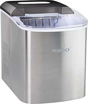 Igloo Portable Ice Maker With Ice Scoop and Basket