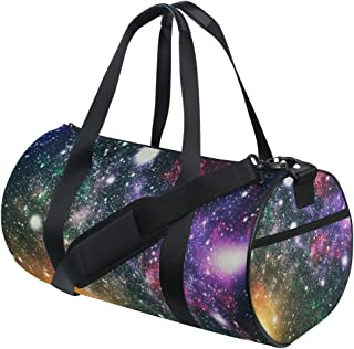 ALAZA Sac de Sport Sport coloré Galaxy Star et Sac Duffel Voyage nébuleuse Univers et