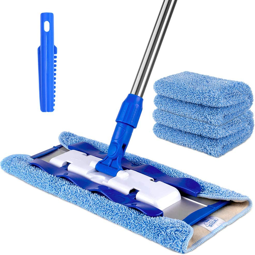 MR.SIGA Professional Microfiber Mop for Laminate Floors