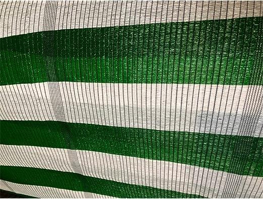Jardin202 4 m. de Ancho - Malla de Ocultacion Bicolor - Metro Lineal Verde y Blanco: Amazon.es: Jardín