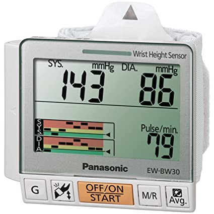 Panasonic EW-BW30S - Tensiómetro (AA, LCD, 77 mm, 26 mm