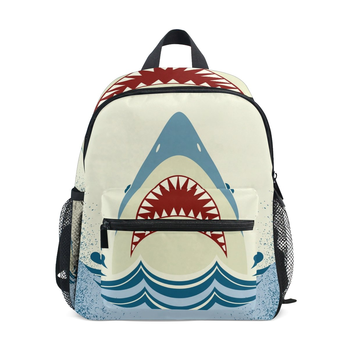 GIOVANIOR Shark Jaws Travel School Backpack for Boys Girls Kids