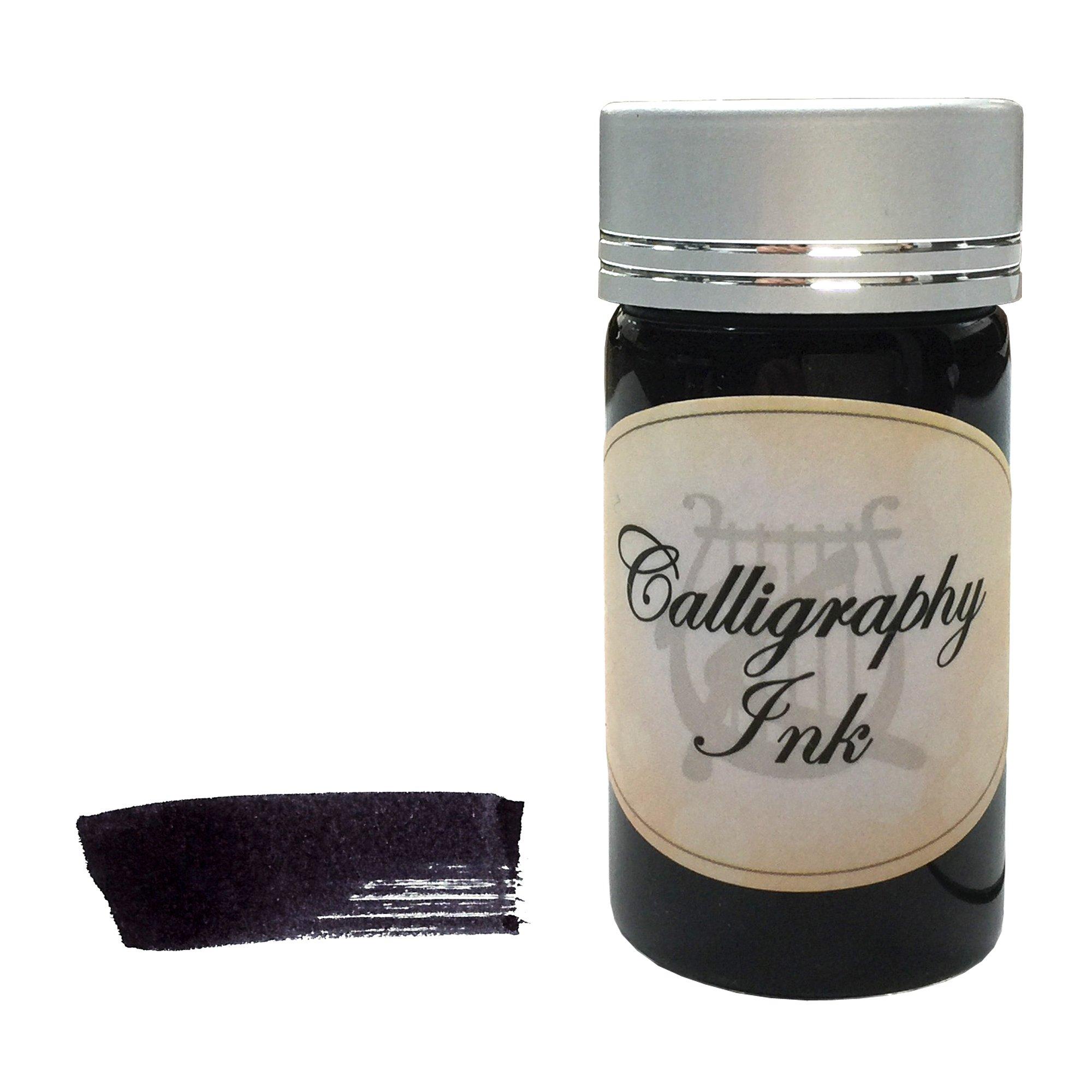 Kentaur Standard Bottle Ink Set - 25 ml (5 Color) - For Fountain Pens, Dips Pens, Ink Refills, and Calligraphy by Kentaur (Image #3)