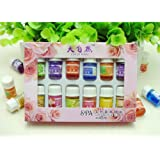 Thinkmax Art Naturals Aromatherapy Top 12 Plant Fragrant Essential Oil Set Relax Aromatherapy Oil for Spa Vaporisation