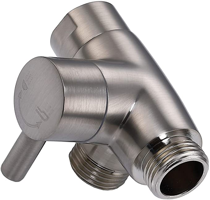 New Domaine Handheld Showerhead With Diverter Brushed Nickel