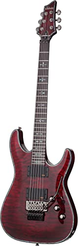 Schecter Hellraiser C-1 FR Electric Guitar, Black Cherry
