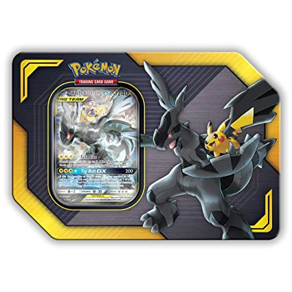 Amazon.com: Pokemon TCG: lata de coleccionista Sun & Moon ...