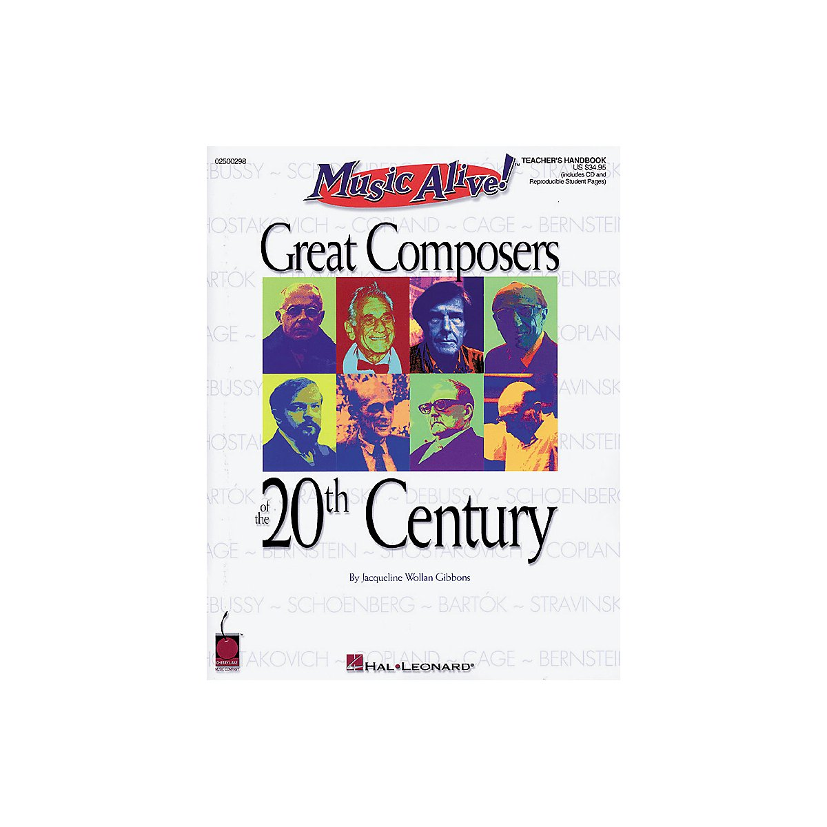 Hal Leonard Great Composers of the 20th Century (Book/CD