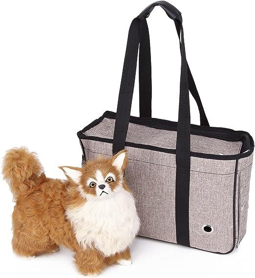 YiHao Bolsa de transporte para mascotas, mascotas bolsa Animales Pequeños Caja para perros gatos Bolsa mascotas bolsa Pet Travel portátil bolsa viaje Soporte Jaula, 3971: Amazon.es: Productos para mascotas