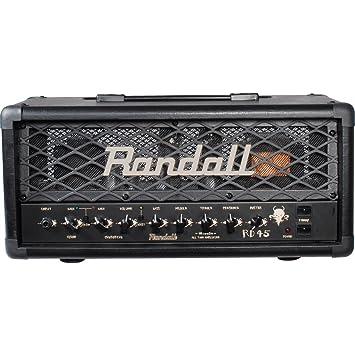Randall USM-RD45HE Diavlo Series - Cabezal amplificador para guitarra (45 W)