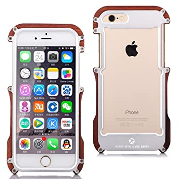 coque iphone 6 plus en bois