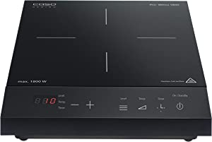 Caso Design Pro Menu Single, 12224 Induction Burner, Standard, Black