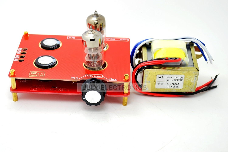 Q-BAIHE 6N3 Tube HIFI Buffer Audio pre-amplifier amp board with Transformer