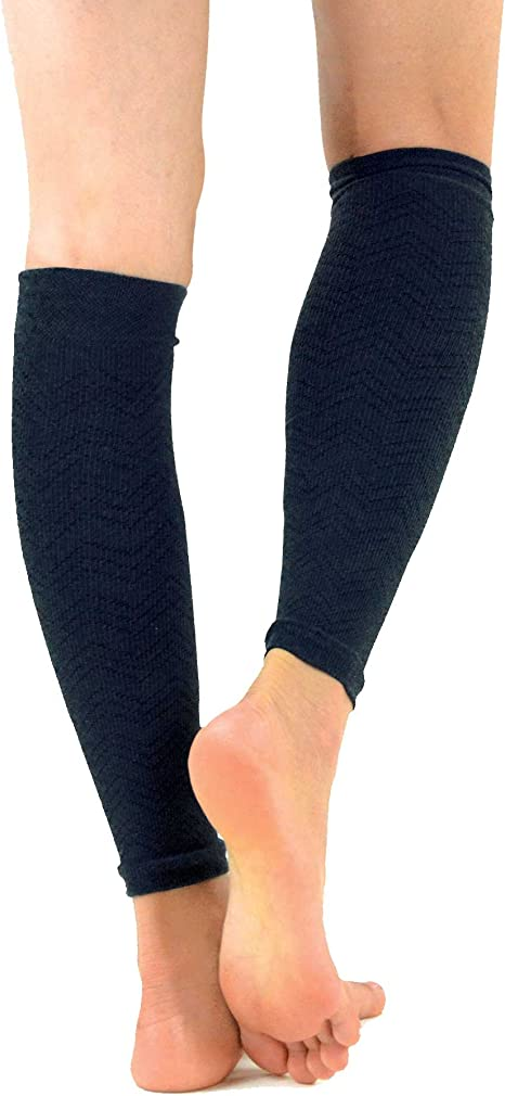 TeeHee Viscose from Bamboo Footless Compression Sleeve with Rib 3-Pack