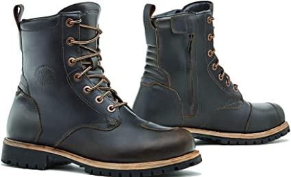 Homologuee Chaussures Moto Wp Ce T44 Brown Forma Legacy YID2EHW9