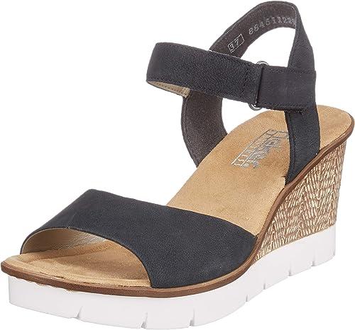 Women's 65589 14 Closed Toe Sandals, Pazifik 14