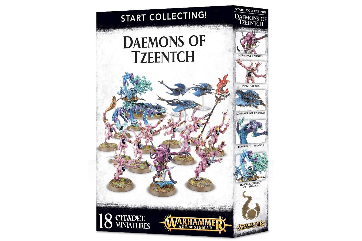 Games Workshop 99129915043'' Start Collecting Daemons of Tzeentch Miniature by Games Workshop (Image #1)