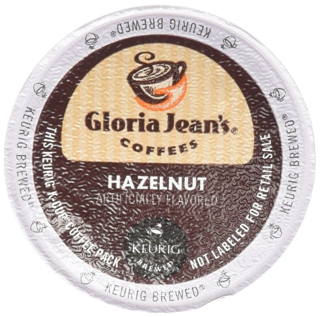 Green Mountain Coffee Roasters Gourmet Single Cup Coffee Hazelnut Gloria Jean's Coffee 12 K-Cups