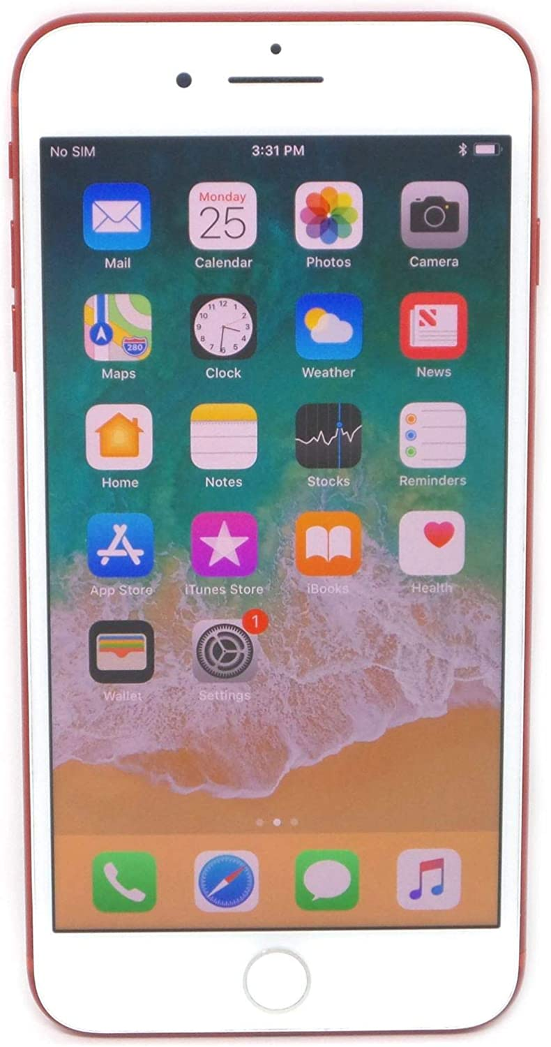 Apple iPhone 7 Plus, 256GB, Red - For T-Mobile (Renewed)
