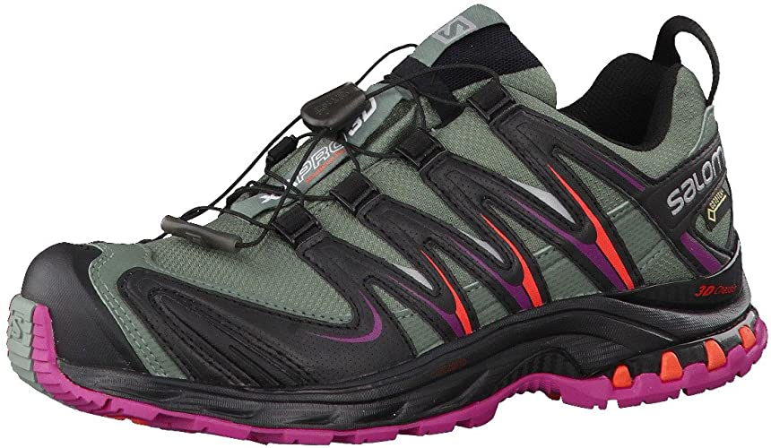 Salomon L39071500, Zapatillas de Trail Running para Mujer, Light ...